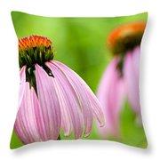Duplication Throw Pillow