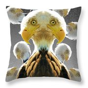 Duplicity Throw Pillow