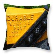 Durable Bumping Post Throw Pillow