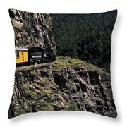 Durango - Silverton Train Throw Pillow