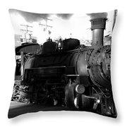 Durango And Silverton Throw Pillow