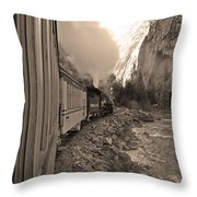 Durango Silverton Throw Pillow
