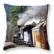 Durango Silverton Painterly 2 Throw Pillow