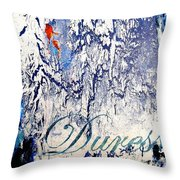 Duress Throw Pillow