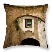 Durnstein Archways Throw Pillow