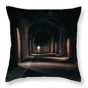 Durrow Tunnel Throw Pillow