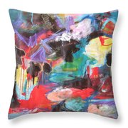dusk in Bay Roberts Throw Pillow