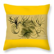 Dust And Vine Throw Pillow
