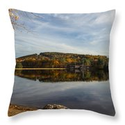 Dust In Fall Throw Pillow