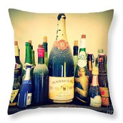 Dust On The Bottle Throw Pillow
