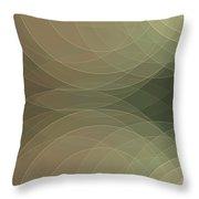 Dust Semi Circle Background Horizontal Throw Pillow