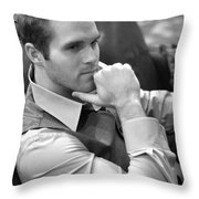 Dustin Throw Pillow