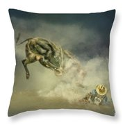Dusty Britches Throw Pillow
