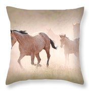 Dusty Emergence 002 Throw Pillow
