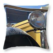 Dusty Old Ford Throw Pillow