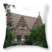 Dutch Building - Henlopen Throw Pillow