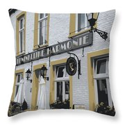Dutch Cafe - Digital Throw Pillow