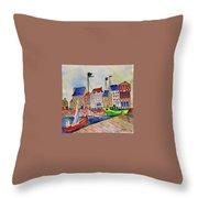 Dutch Harbor Throw Pillow