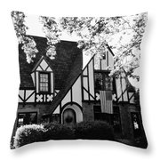 Dutch Manor  Throw Pillow