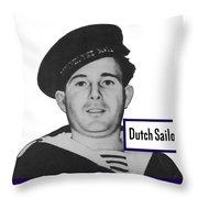 Dutch Sailor This Man Is Your Friend Throw Pillow