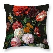 Dutch Still Life #3 Throw Pillow