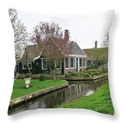 Dutch Village 2 Throw Pillow