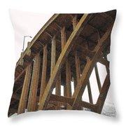 Dvp Bridge Throw Pillow
