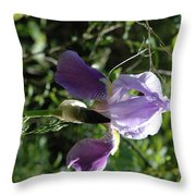Dwarf Lake Iris Throw Pillow