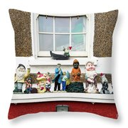 Dwarfs Throw Pillow