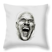 Dwayne The Rock Johnson Throw Pillow