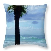 Dwell In Paradise Throw Pillow