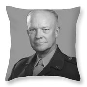 Dwight D. Eisenhower  Throw Pillow