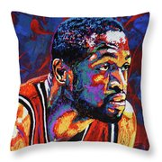 Dwyane Wade 3 Throw Pillow