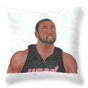 Dwyane Wade Throw Pillow