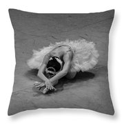 Dying Throw Pillow