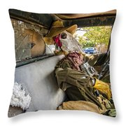 Dying For The Shot Throw Pillow