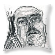 Dying Soldier  Throw Pillow