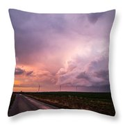 Dying Supercell Throw Pillow