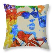 Dylan Watercolor Throw Pillow