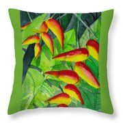 Dynamic Halakonia Throw Pillow