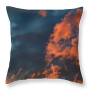 Dynamic Sky Throw Pillow