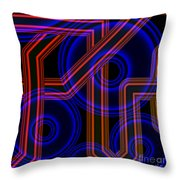 Dynamics Throw Pillow