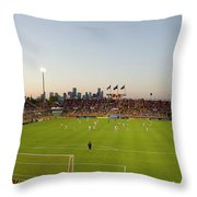 Dynamo Pano Throw Pillow