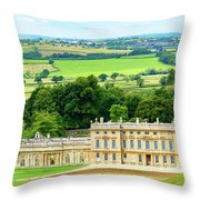 Dyrham Park Throw Pillow