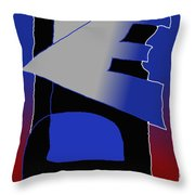 E-likes-eu Throw Pillow