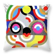 E Motion - Princess Face 1 Throw Pillow