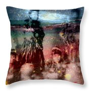 E Ola Ana No Throw Pillow