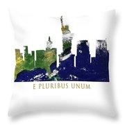 E Pluribus Unum Throw Pillow