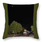 E13 Under The Moon Throw Pillow