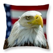 Eagle 6 Throw Pillow